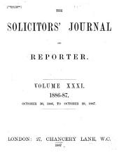 The Solicitors' Journal: Volume 31