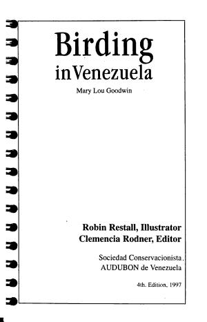 Birding in Venezuela