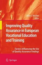 Improving Quality Assurance in European Vocational Education and Training PDF