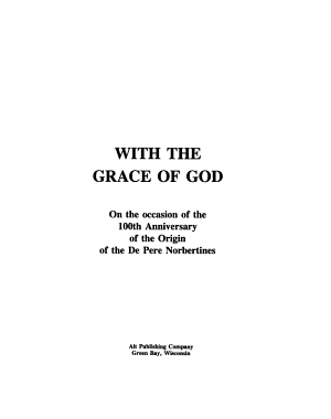 With the Grace of God