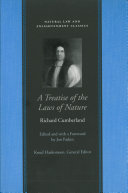 A Treatise of the Laws of Nature