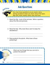 Read & Succeed Comprehension Level 1: Asking Questions Passages and Questions
