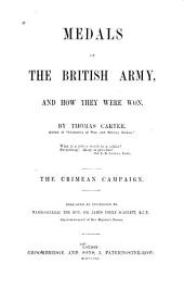 Medals of the British Army: And how They Were Won