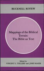 Mappings of the Biblical Terrain