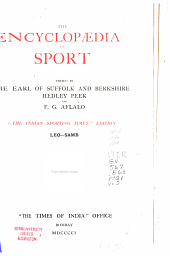 The Encyclopd̆ia of Sport: LEO-SAMB