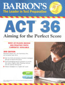 Barron s ACT 36 with CD ROM  3rd Edition PDF