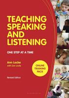 Teaching Speaking and Listening PDF