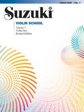 Suzuki Violin School - Volume 7 (Revised): Violin Part