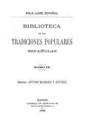 Cancionero popular gallego y en particular de la provincia de la Coruña: Volumen 9