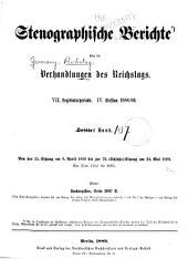 Verhandlungen des Reichstags: Band 107