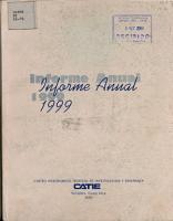 Informe Anual 1999 PDF