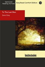 To The Last Man (EasyRead Comfort Edition)