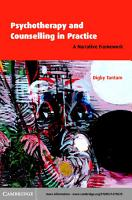 Psychotherapy and Counselling in Practice PDF
