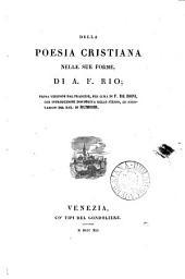 Della poesia cristiana nelle sue forme, prima versione dal fr., per cura di F. de Boni, con intr. ed annotazioni del bar. di Rumohr