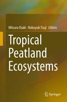 Tropical Peatland Ecosystems PDF