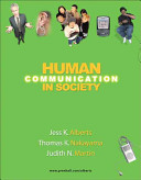 Human Communication in Society Book