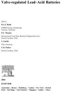 Valve Regulated Lead Acid Batteries