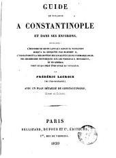 Guide du voyageur a Constantinople et dans ses environs