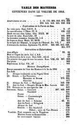 Feuille religieuse du canton de Vaud