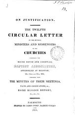 On Justification 12th Circular Letter 1836 Book PDF