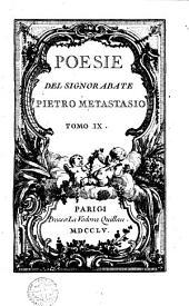 Poesie del Signor Abate Pietro Metastasio: Volume 8