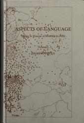 Aspects of Language: Geolinguistics