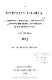 The Statesman's Year-book: Volume 2