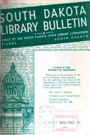 South Dakota Library Bulletin PDF