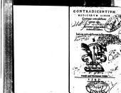 Contradicentium medicorum liber, continens contradictiones centum octo