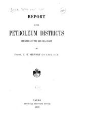 Report on the Petroleum Districts Situated on the Red Sea Coast