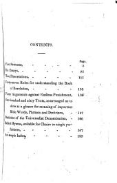 Nine Sermons on Important Doctrinal and Practical Subjects: Delivered in Philadelphia, November, 1834