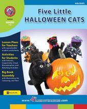 Five Little Halloween Cats Gr. 1-2