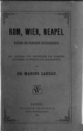 Rom, Wien, Neapel während des spanischen erbfolgekrieges: Ein Beitrag zur Geschichte des Kampfes zwischen papstthum und kaiserthum