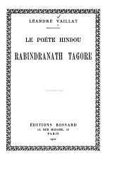 Le poète hindou Rabindranath Tagore