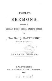 Twelve sermons: Volume 7