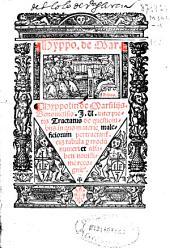 Hyppoliti de Marsiliis Bononiensis ... Tractatus de questionibus in quo materie maleficiorum pertractant[ur] cum tabula p[er] modu[m] numeri et alfabeti nouissime recognit[us]