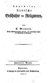 Allgemeine kritische geschichte der religionen: Band 2