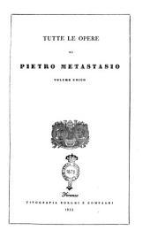 Tutte le opere di Pietro Metastasio volume unico