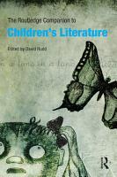 The Routledge Companion to Children s Literature PDF