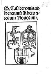 Ad Herennium Rhetoricorum novorum