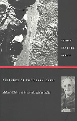 Cultures of the Death Drive PDF