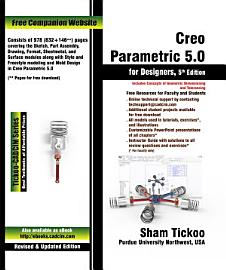 Creo Parametric 5 0 For Designers  5th Edition