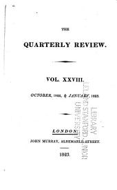 The Quarterly Review: Volume 28