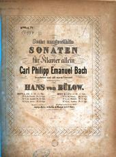 Sechs ausgewählte Sonaten für Klavier allein