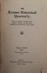 The Kansas Historical Quarterly Book PDF