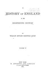 A History of England in the Eighteenth Century: Volume 6