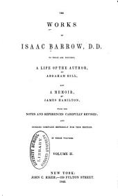 The Works of Isaac Barrow: Volume 2