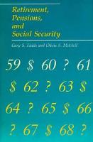 Retirement  Pensions  and Social Security PDF