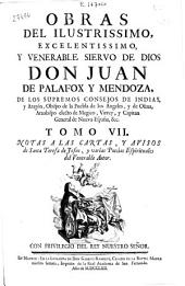 Obras del Ilustrissimo ... Don Juan de Palafox y Mendoza, ... Obispo ... de Osma ...: tomo \RVII\R : notas a las Cartas, y auisos de Santa Teresa de Jesus, y varias poesías Espirituales del Venerable autor