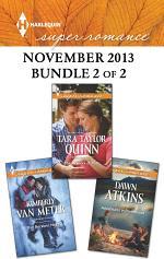 Harlequin Superromance November 2013 - Bundle 2 of 2